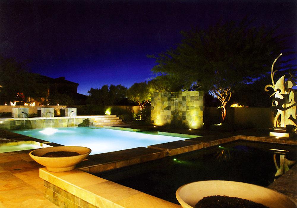 Jannotta Residence Pool view