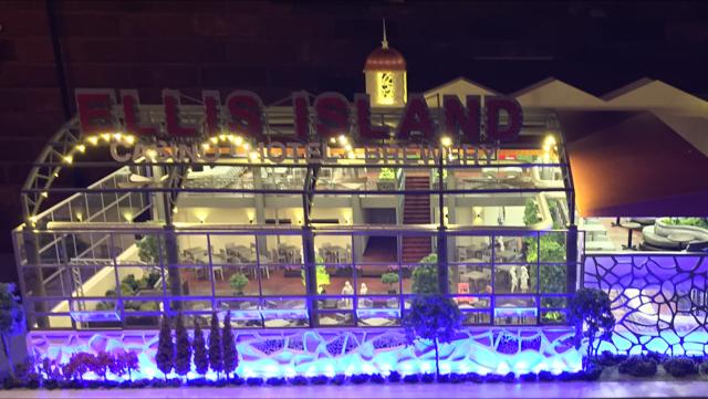 Ellis Island Casino - night light
