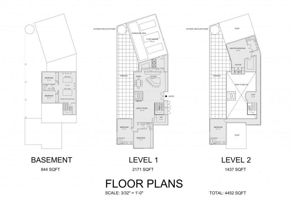 O'Connor Residence floor-plan