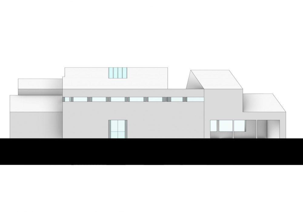 O'Connor Residence 3d rendering -back