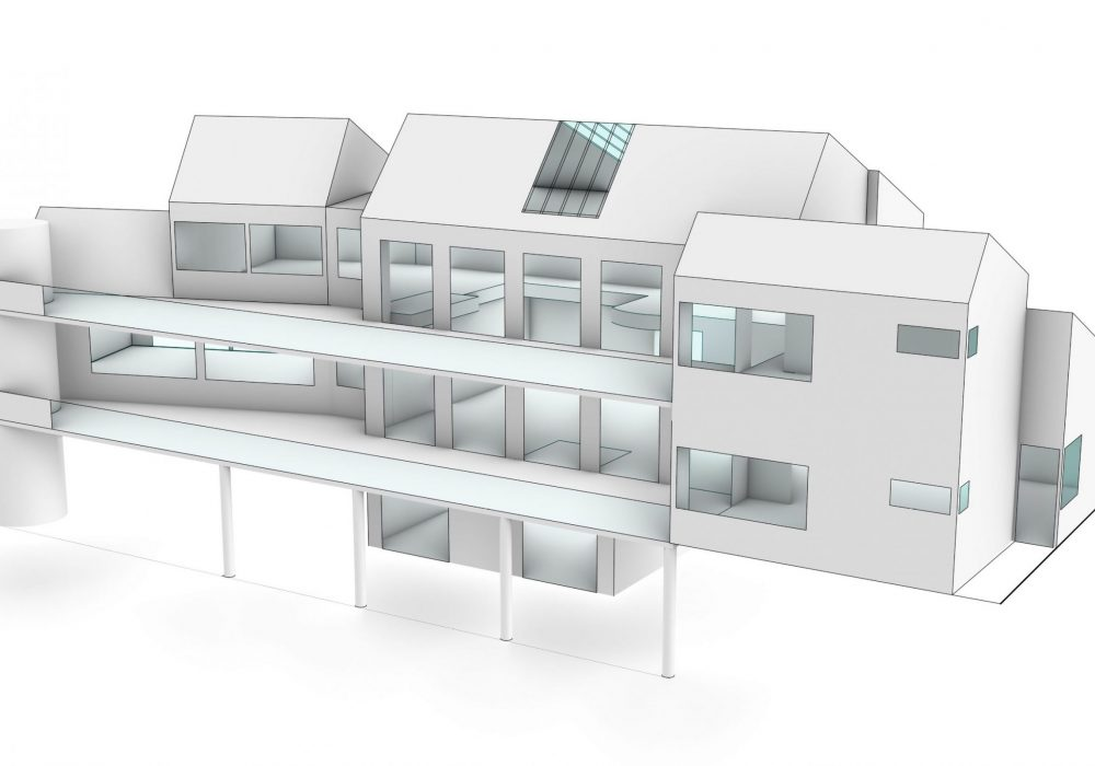 O'Connor Residence 3d rendering -front right