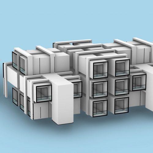 Mesa Ridge-3d rendering