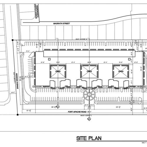 Jon J. Jannotta Architects – Planners, Inc - Site Plan