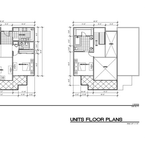 Units Floor Plan - Unit C