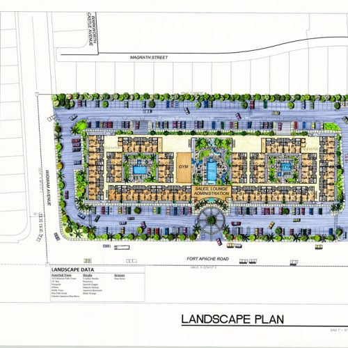 Architectural Firm in Las Vegas - Landscape Plan